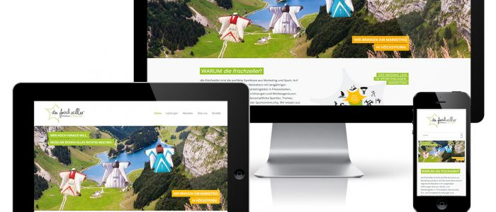 die neue frischzeller Website