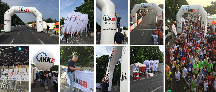Promotion Marketing IKK BB Berliner Firmenlauf