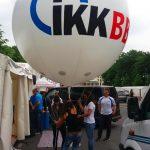 Berliner Firmenlauf IKK BB Helium Sky Ballon