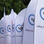 Berliner Firmenlauf Ikk BB Beachflags