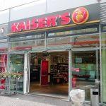frischzeller werbedisplay Kaiser's